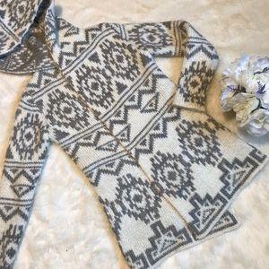 Lovestitch cardigan sweater